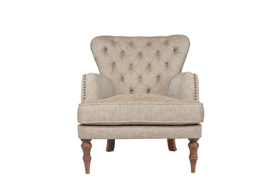 Single Sofa Light Brown