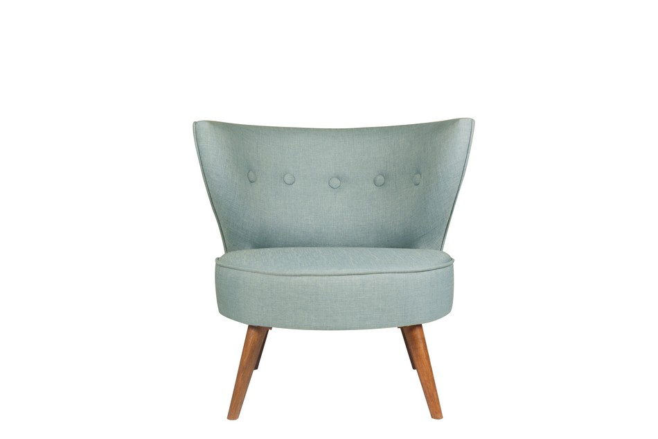 Single Sofa Indigo Blue
