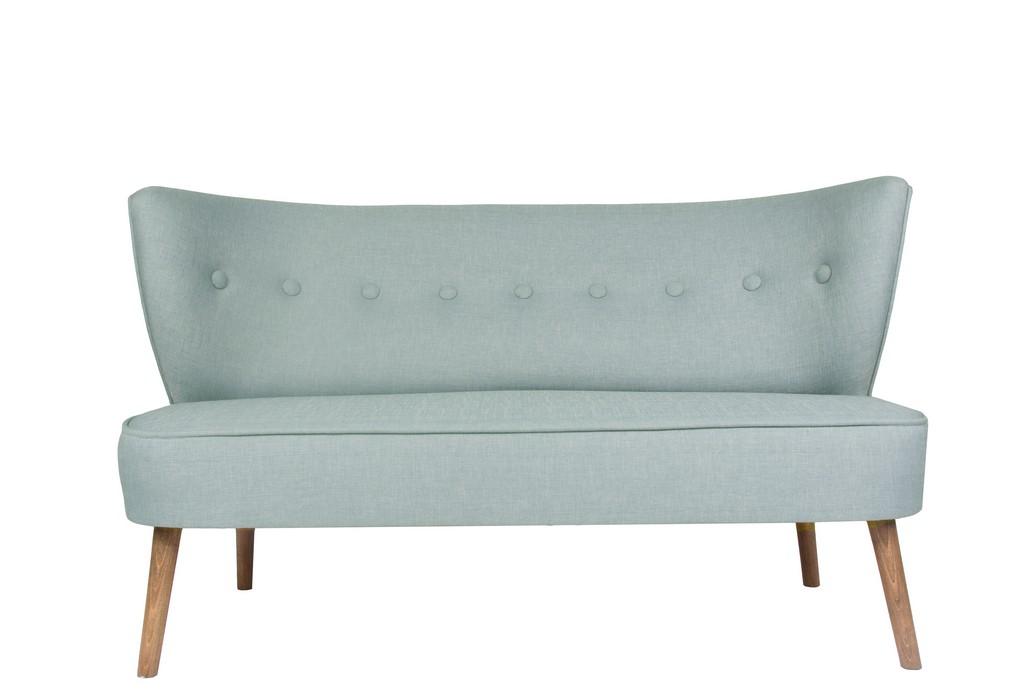 Double Sofa Indigo Blue
