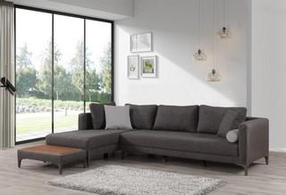 Extandable Corner Sofa Gray